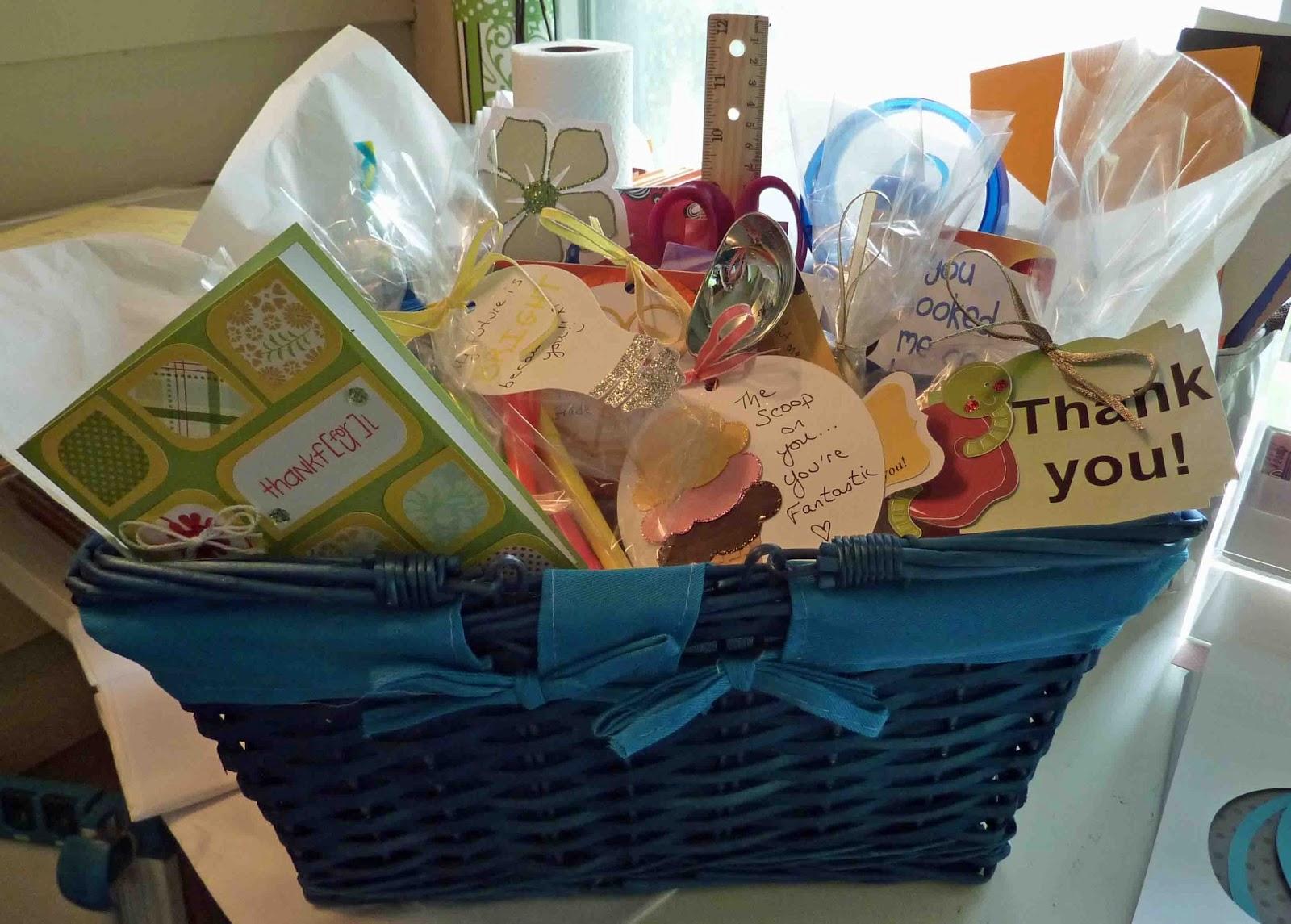 Cool Beans by L B : Basket Full of Puns: Teacher Gift - Part 1