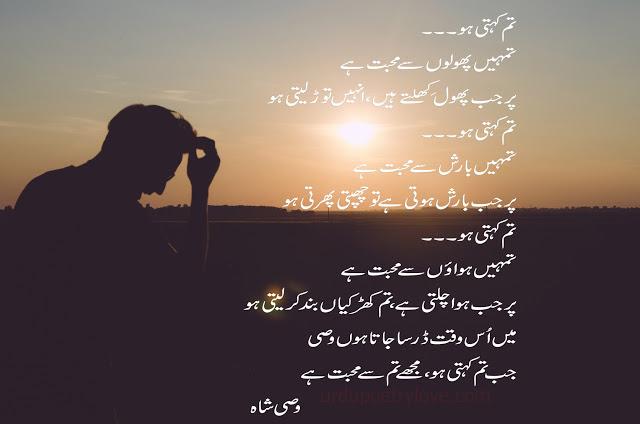 wasi shah urdu poetry