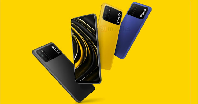 POCO M3 is Launched - Comes with 6GB RAM and 128GB ROM: Price Starts from 10,999 | TechNeg