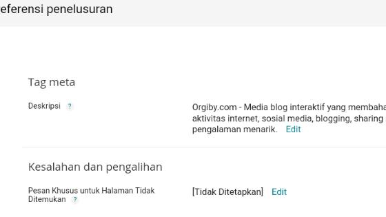 Cara mengatasi error 404 jika url lama dan baru dari postingan yang sama sudah terindex google