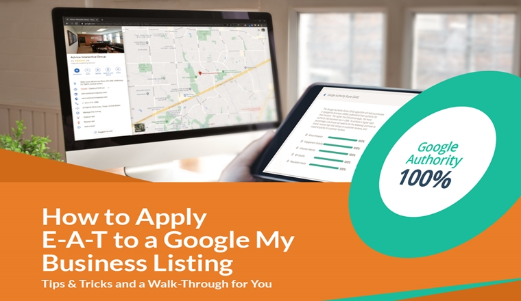 How to Apply Google EAT to a Google My Business Listing #infographic