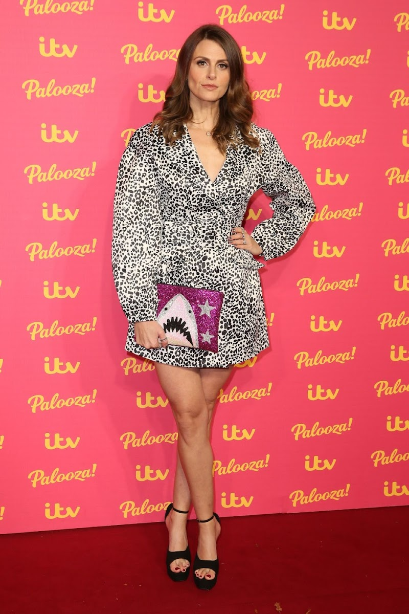 Ellie Taylor Snaps at ITV Palooza 2019 in London 12 Nov-2019