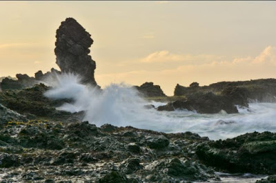 lokasi batu fasilitas rute menuju pantai siung