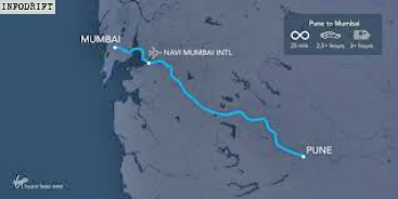 Hyperloop India route