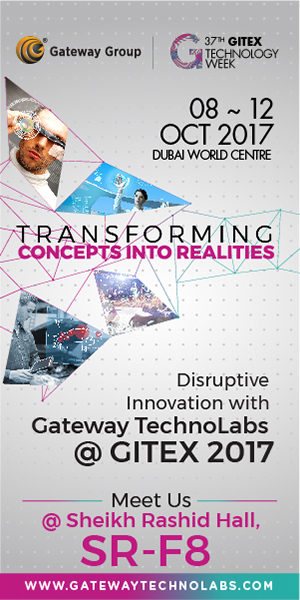 Gateway TechnoLabs @GITEX 2017