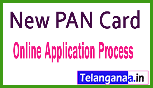 New PAN Card Online Application Process