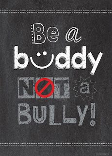 Chalk It Up! Inspire U Poster, classroom poster, classroom decor, bully prevention