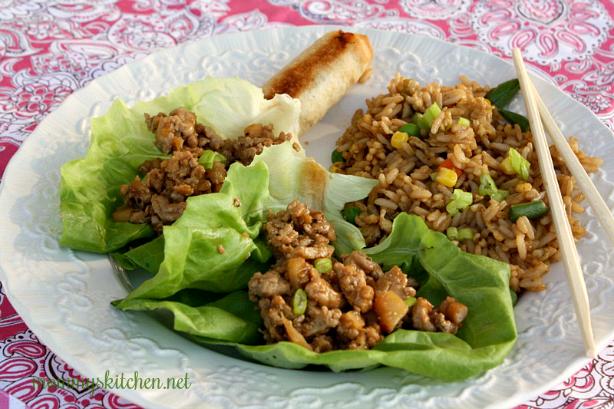 CopyKat PF Chang's Chicken Lettuce Wraps