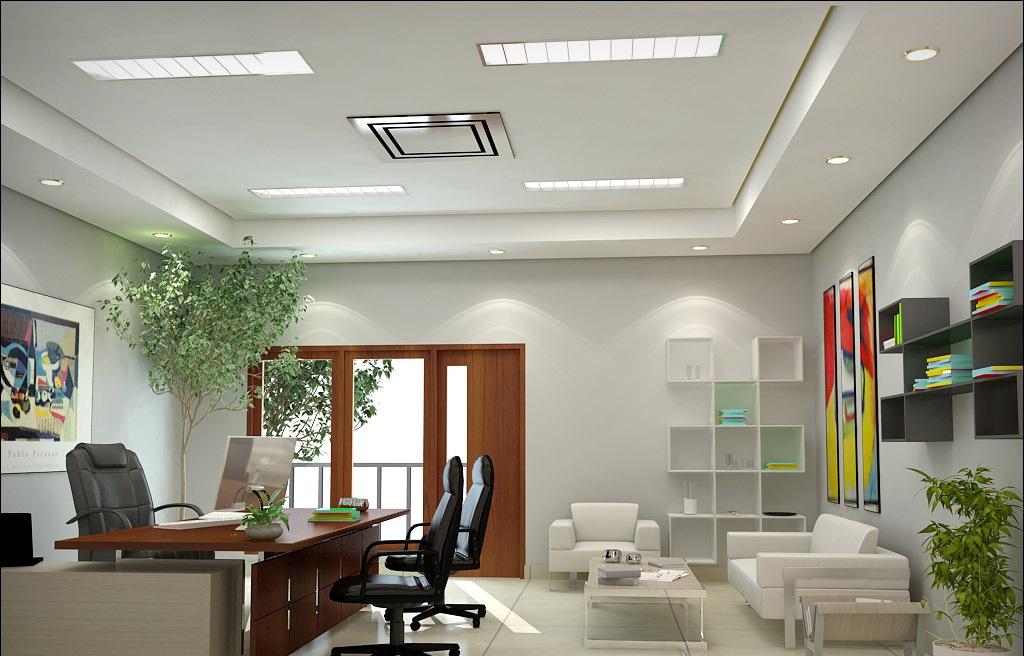 35 Desain Ruang Kerja Minimalis Di Rumah Kantor Desainrumahnya Com