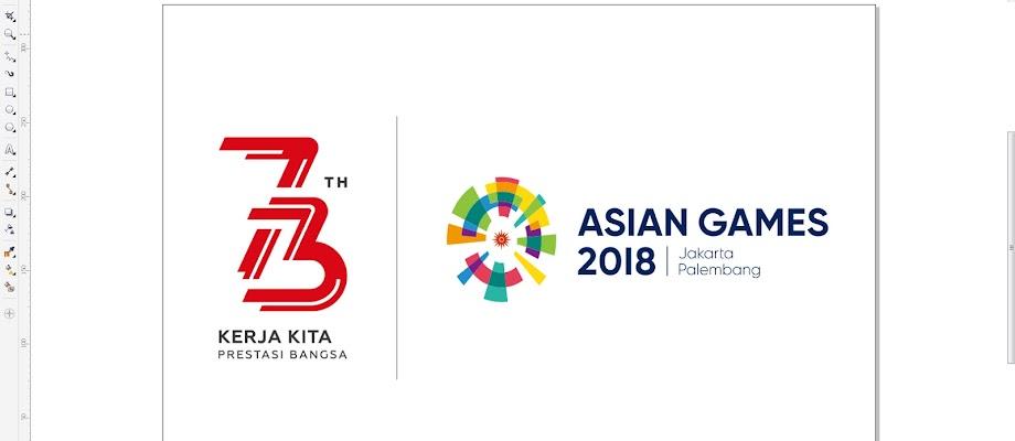 LOGO RESMI HUT REPUBLIK INDONESIA KE 73 2018