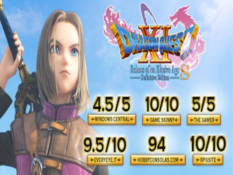 Download DRAGON QUEST XI S Echoes of an Elusive Age Definitive Edition Game PC Free