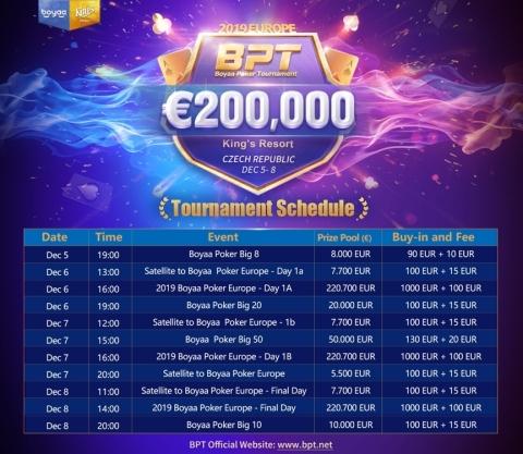 Turnamen 2019 BPT Eropa Resmi Diumumkan