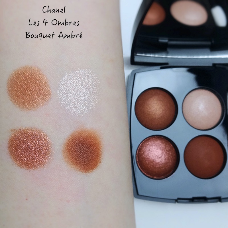 Chanel Les 4 Ombres 372 Bouquet Ambre review swatches