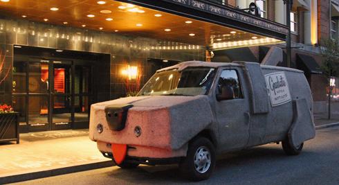 Mutt Cutts Van Providence Rhode Island
