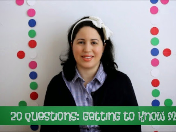 20 Questions: Getting To Know Me