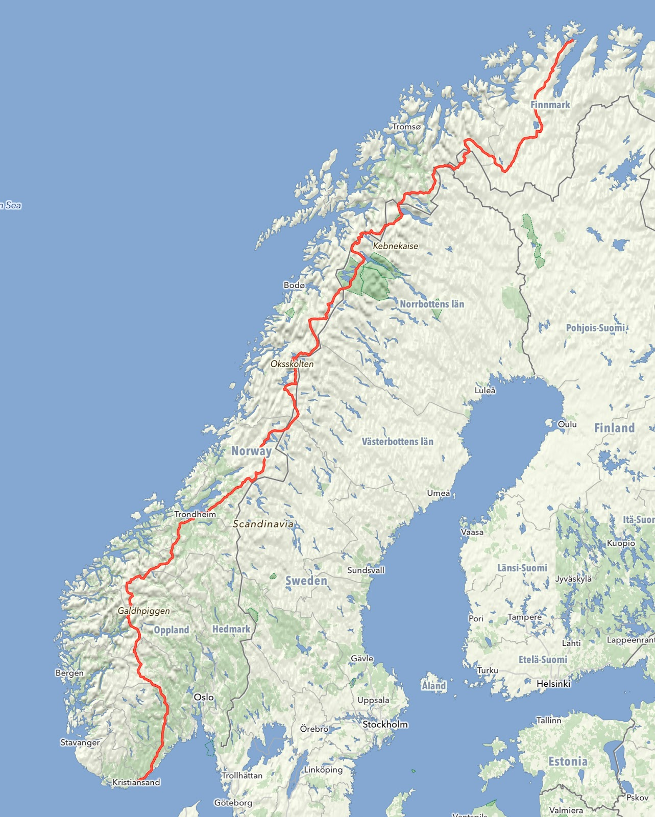Norway End-End 2018