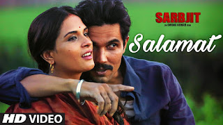 Salamat (Sarbjit) Arijit Singh songs Mp3 Songs Free Download