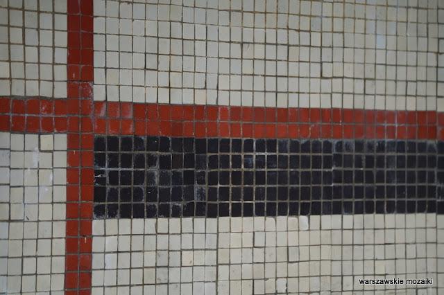mozaika mosaic Warszawa Warsaw warszawskie osiedla Wawer modernizm modernism Wacław Kłyszewski Tygrysy Jerzy Mokrzyński Eugeniusz Wierzbicki lata 60 architektura architecture IBJ Instytut Badań Jądrowych