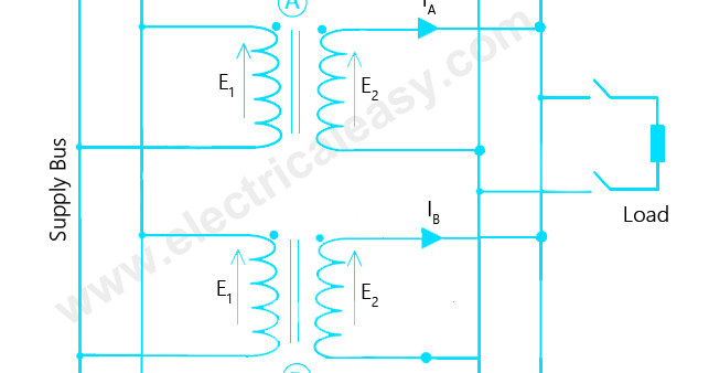 Parallel Operation of Transformers | electricaleasy com