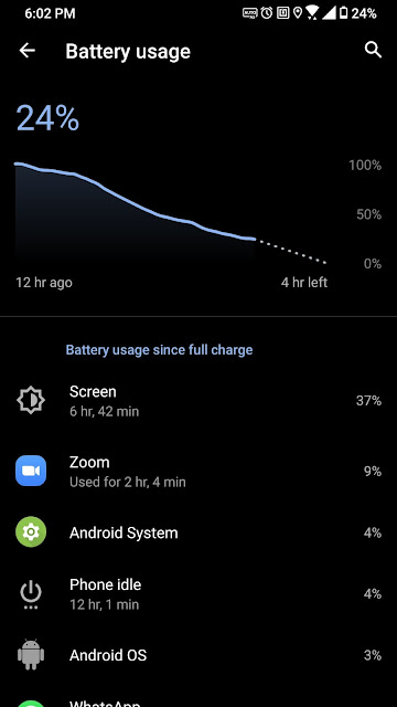 screen on time refresh rate otomatis rog phone 3