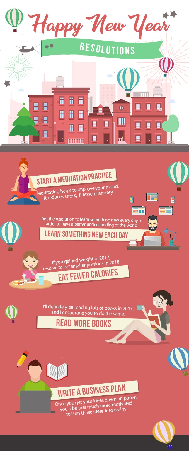 Best New Year 2018 Resolutions