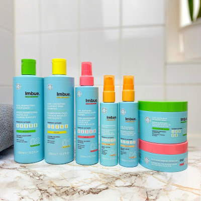 Imbue Haarpflege für welliges und lockiges Haar nach der Curly Girl Methode