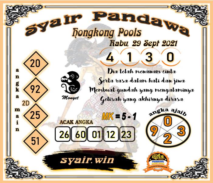 Pandawa HK Rabu 29 September 2021 -
