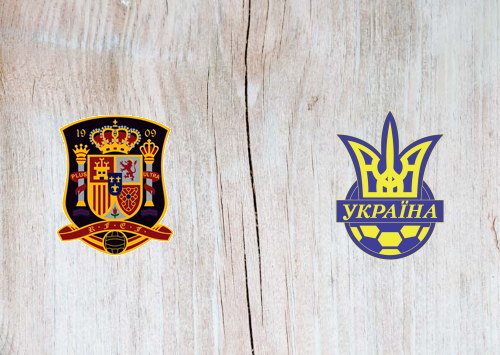 Spain vs Ukraine Full Match & Highlights 06 September 2020