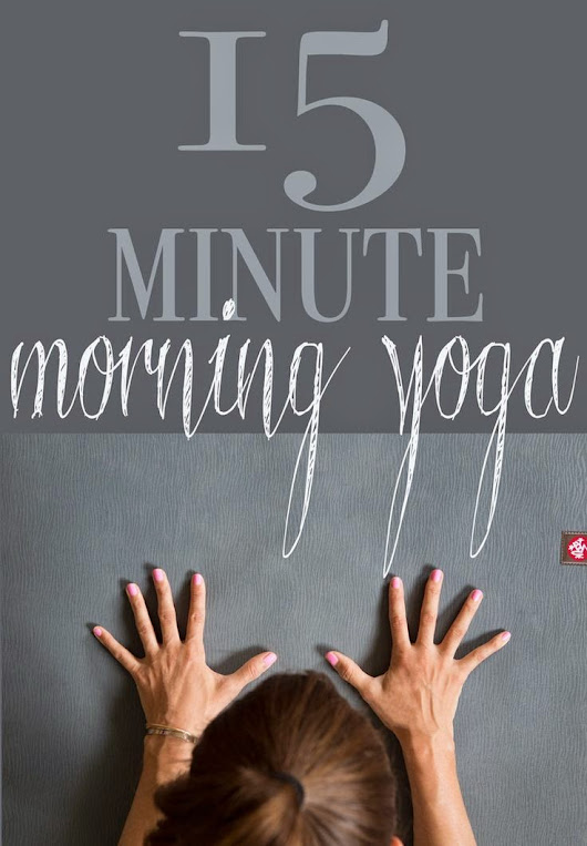 Simple 15 Min Morning Yoga