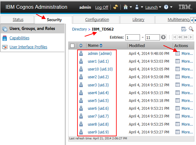 Tivoli Directory Server Ldapsearch Command Integrating Tivoli Directory Server (tds) With Ibm Cognos