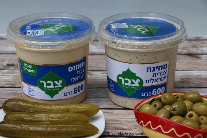 חומוס צברי ישראלי וטחינה צברית ישראלית – ליום העצמאות