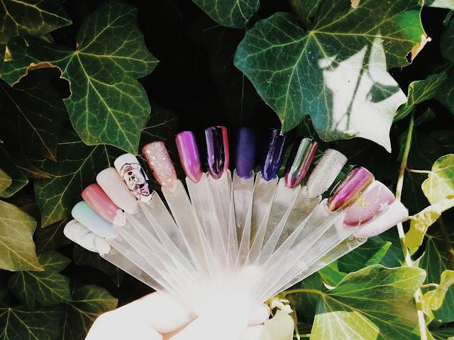 wzornik | nailart | pomysły na paznokcie | minnie | duochrome nails