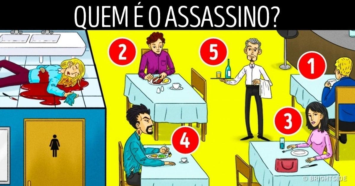 Enigma: Quem é o assassino?