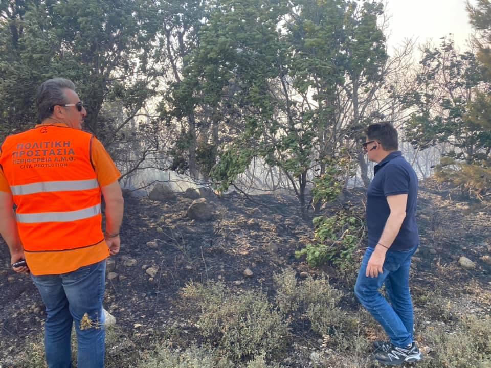 Μαίνεται η πυρκαγιά στον Έβρο – Μάχη με τις φλόγες [ΒΙΝΤΕΟ]