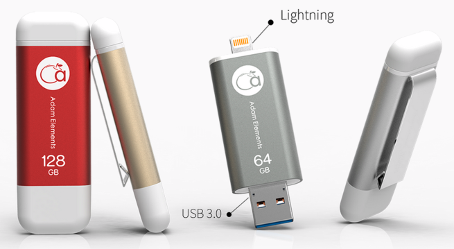 5 Best iPhone and iPad USB Flash Drive iklips