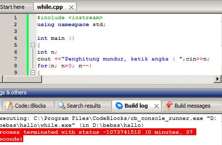 loops in c++ programing