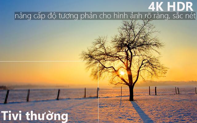 Smart Tivi 4K SAMSUNG 65 Inch UA65NU7100KXXV