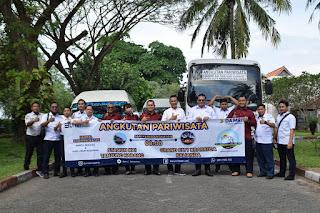DAMRI Kerjasama dengan  PT. Krakatau Lampung Tourism  Tingkatkan Pariwisata Grand Elty
