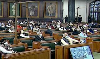 संसद के बजट सत्र की हंगामेदार शुरुआत, जानिये पहले दिन क्या-क्या हुआ ? | #NayaSaberaNetwork