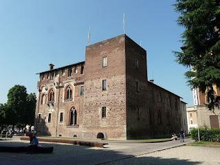 The Visconti Castle in Abbiategrasso was built in 1382 by Gian Galeazzo Visconti