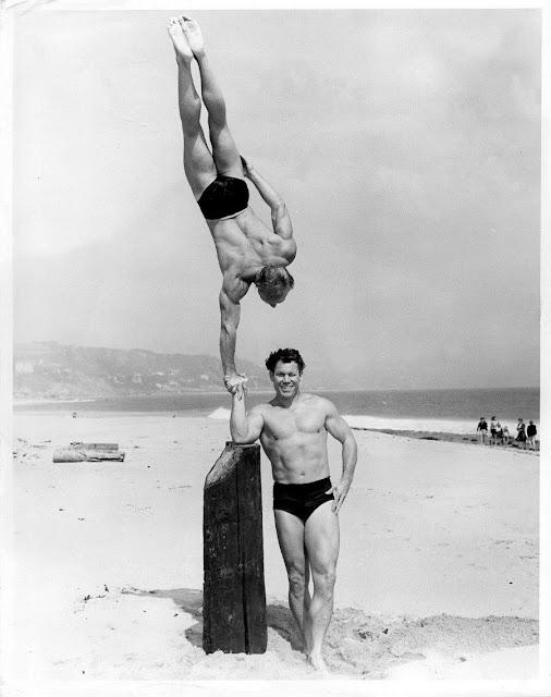 Bodybuilder, Stuntman, & Actor Bert M. Goodrich 1991 Valley Oaks Cemetery