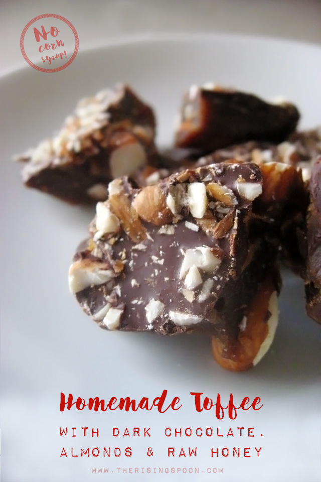 How to Make Homemade Toffee Without Corn Syrup + Easy Caramel Toffee Recipe