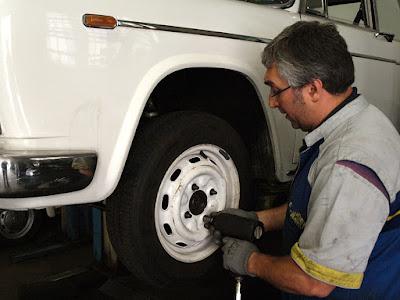 Guida al restauro: freno e ruote