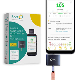 BeatO Smartphone Glucometer for home use