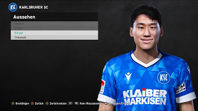 PES 2021 Faces Kyoung Rok Choi by Heywips