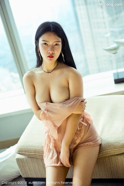Hot girls sexy porn star Ling Xi Er (凌希儿) 9