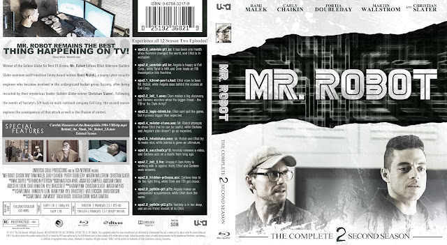 Mr Robot Season 2 Bluray Cover