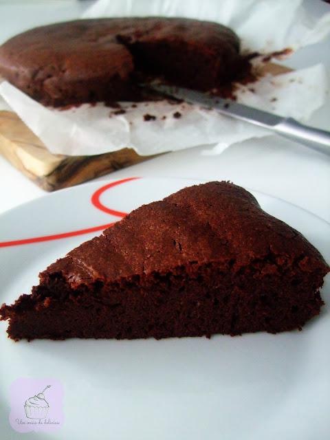 Gâteau au chocolat amer
