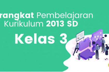 RPP 1 Lembar Mapel Agama Islam Dan BP Kelas 3 K13 Revisi 2020, SE No 14 Tahun 2019
