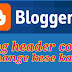 Blog header color change kese kare
